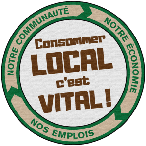 logo consommer local V2redim