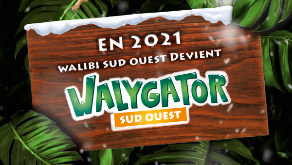 Waligator ! Aqualand ! Plus qu'un parc d'attraction à 1h15 de Duras