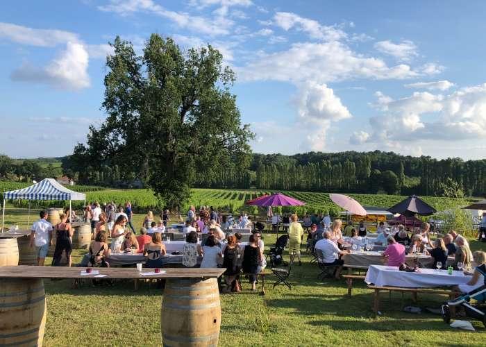 image de Soirée vin, barbecue et musique dans les vignes au Domaine du Grand Mayne