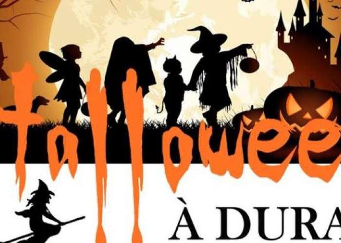 image de Halloween dans le village