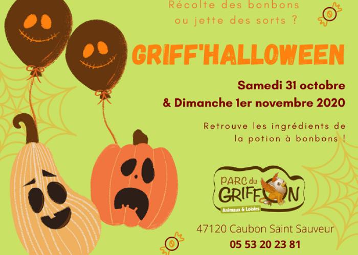 image de ANNULÉ - Griff' Halloween au Parc du Griffon