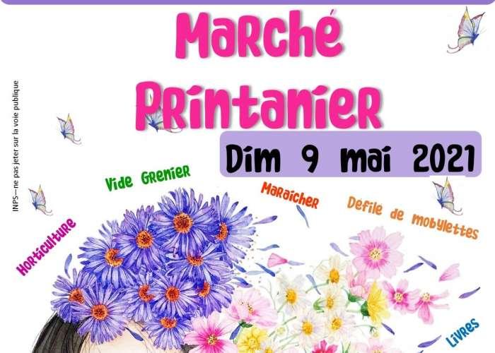 image de Marché printanier et vide-greniers