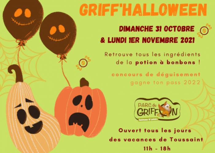 image de Griff'Halloween au Parc du Griffon