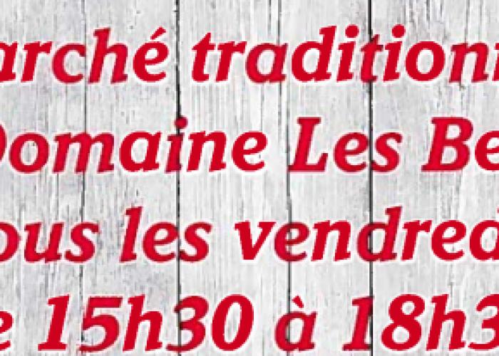 image de Marché traditionnel au Domaine Les Bertins